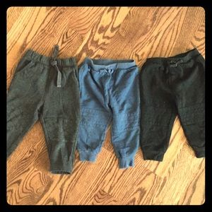 3 pants cat and jack and old navy